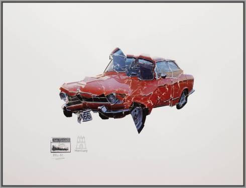 """Iven Einszehn: """"BMW 02"""" (100 Jahre BMW / 100 Jahre DADA)"""