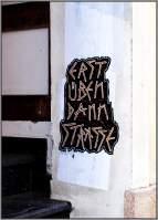 Stencil-Scheiße gecrosst